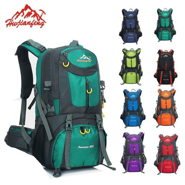 e2edc3f4fa Check current price Outdoor Camping Climbing Bag 60L Sports Backpack Large  Capacity Waterproof Travel Backpack 40L Rucksack 50L Hunting Hiking Bags  just ...