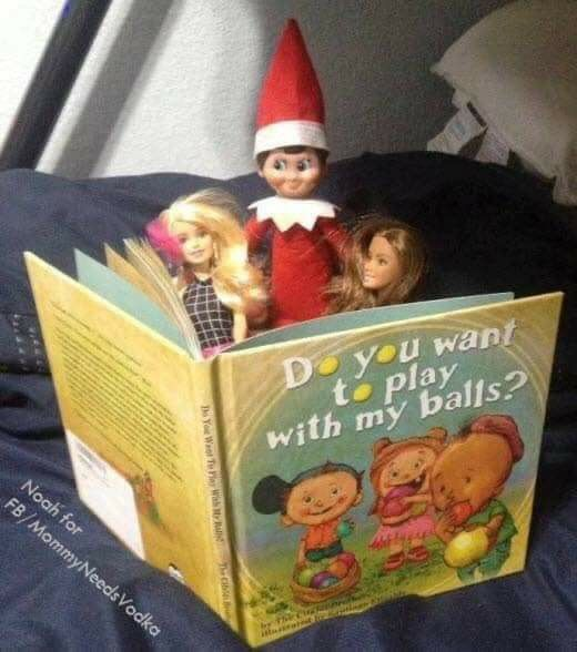 Latest Totally Free Elf on the shelf do you want to play with my balls book lol  Thoughts   Elf on the shelf for adult humor.  That damn elf! Naughty elf on the shelf! Elf on the shelf ideas  #balls #book #Elf #Free #Latest #LOL #Play #Shelf #Thoughts #Totally #naughtyelfontheshelfideas