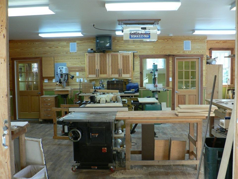 Woodshop Garage Shed Traditional With Mountain Air Contemporary