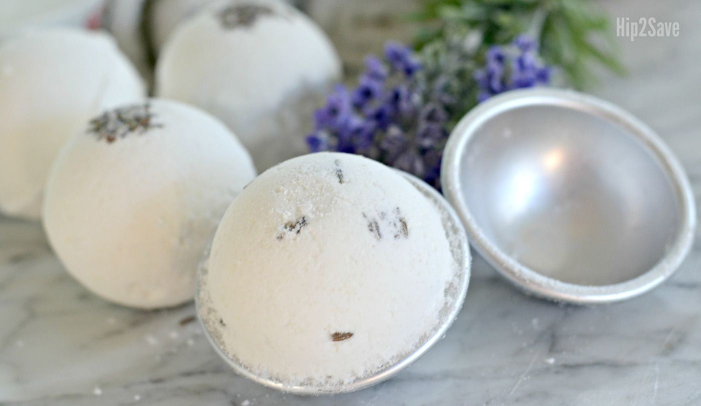 Make your own fragrant and fizzy Bath Bombs at home for a FUN and easy DIY project!