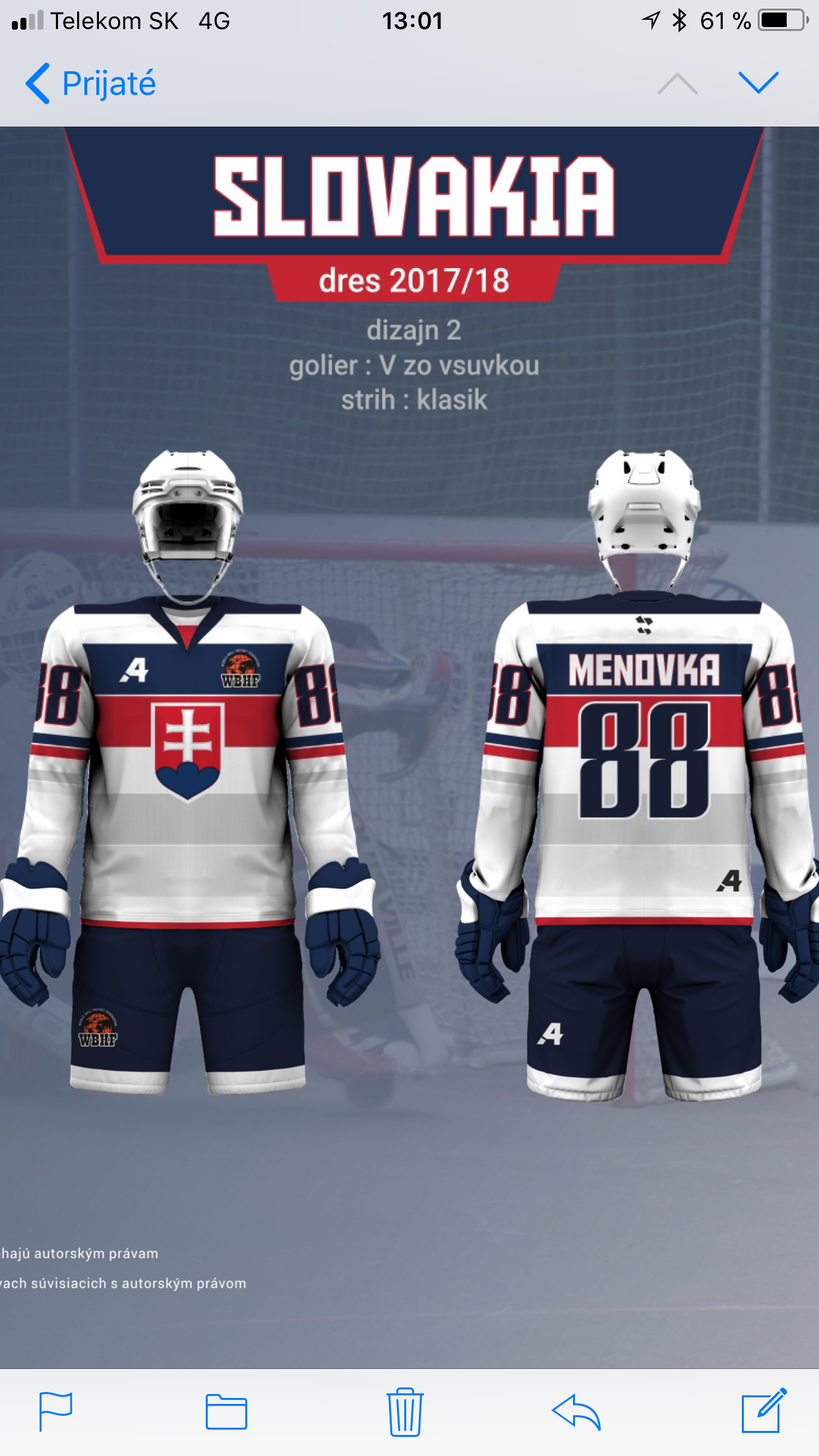Pin Von Wbhf Auf Team Slovakia Ball Hockey Eishockey Hockey Telekom