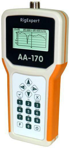 Meters: Rigexpert Aa-170 Hf/Vhf Antenna Analyzer (0 1 To 170