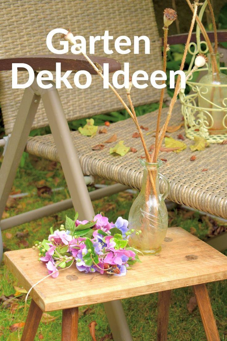 90 Deko Ideen Zum Selbermachen Fur Sommerliche Stimmung Im Garten Kleiner Garten Landschaftsbau Garten Vorgarten