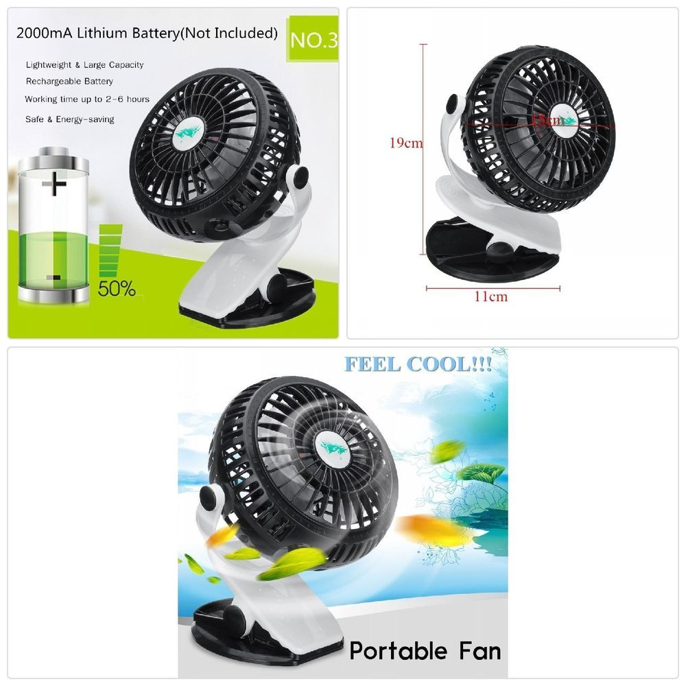 Desk fans with usb clip Fans Cooling Fan Hgala Portable