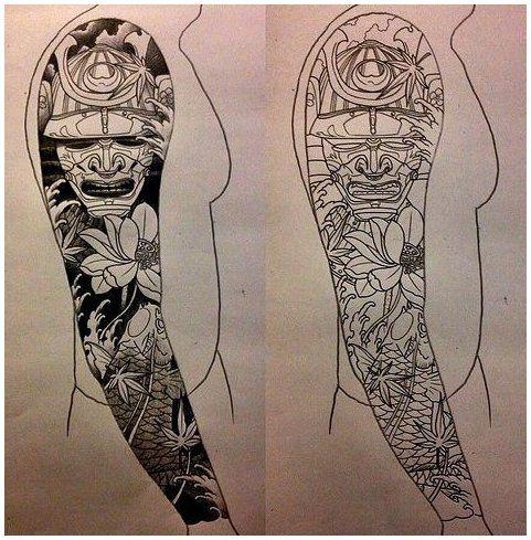 japanese sleeve tattoos for guys design
