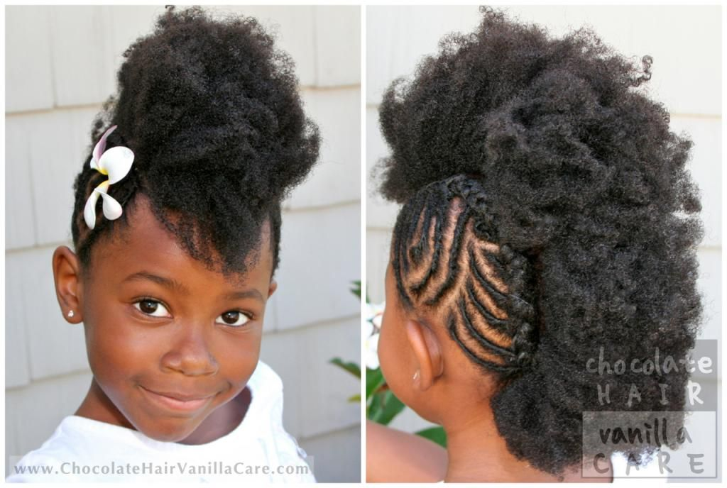 Groovy 1000 Images About Natural Kids Frohawks On Pinterest Next Short Hairstyles For Black Women Fulllsitofus
