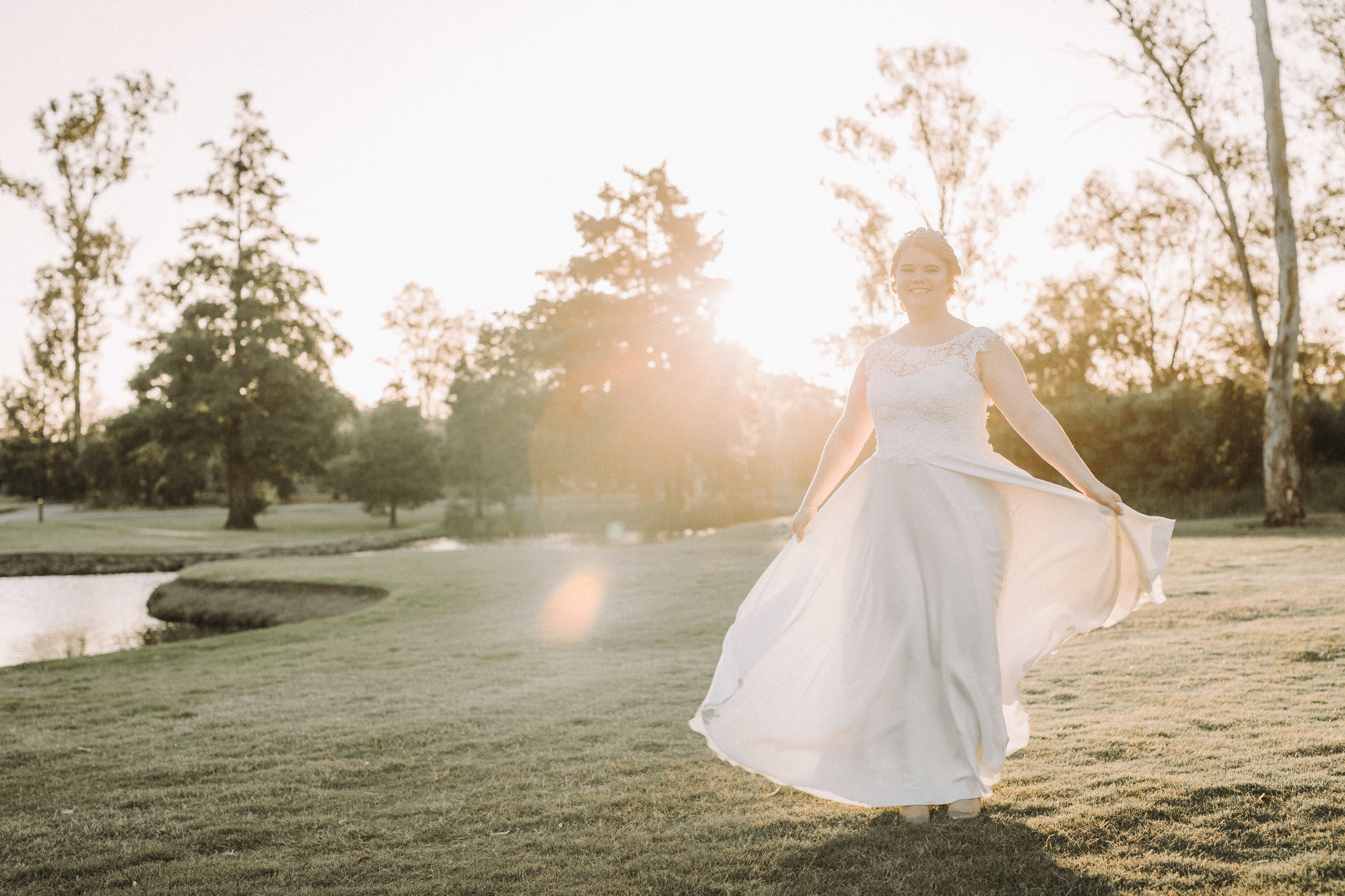 One of our real brides 'Taylor' looked stunning in her 'Candice' Bertossi Brides gown. www.paddingtonweddings.com.au