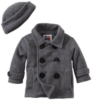 46780b2d28e2 Good Lad Baby-Boys Infant Peacoat with Hat