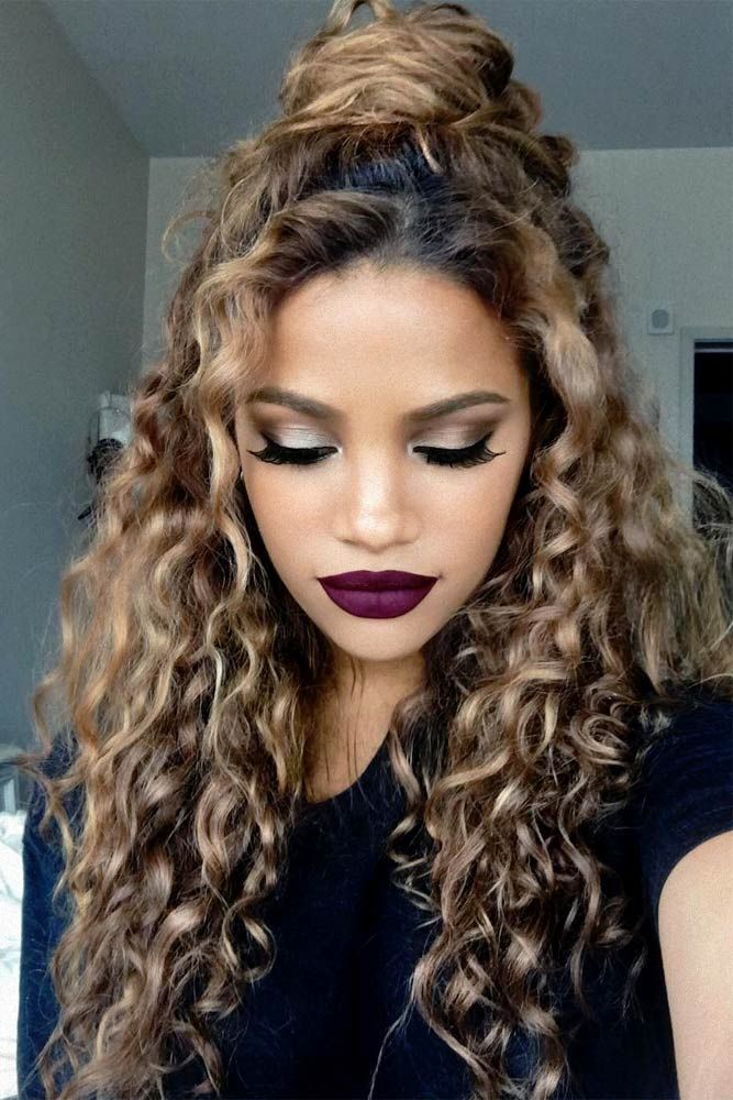 How To Curl Your Hair Wavy Curls For Holidays Or Just A Glamorous