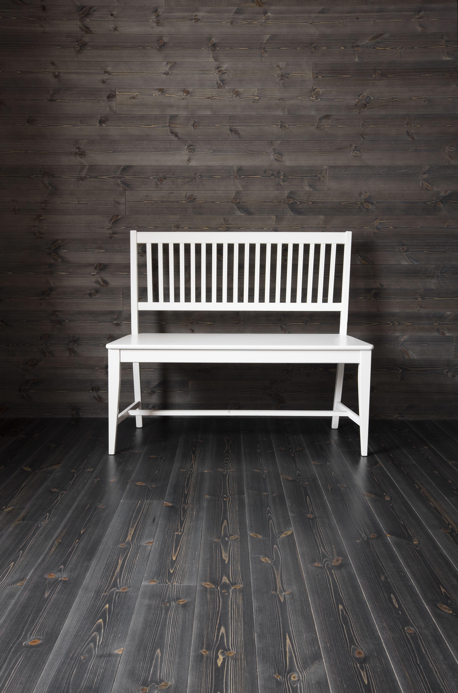 Baseco Trä på golv och vägg Dark grey horisontal panelling Paneler Pinterest Trä