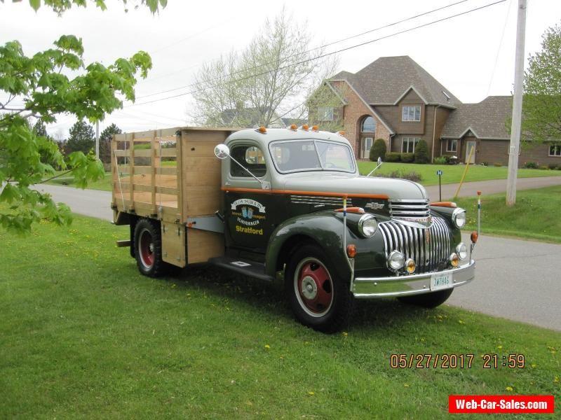 1946 Chevrolet 1 1/2 ton #chevrolet #112ton #forsale #canada ...