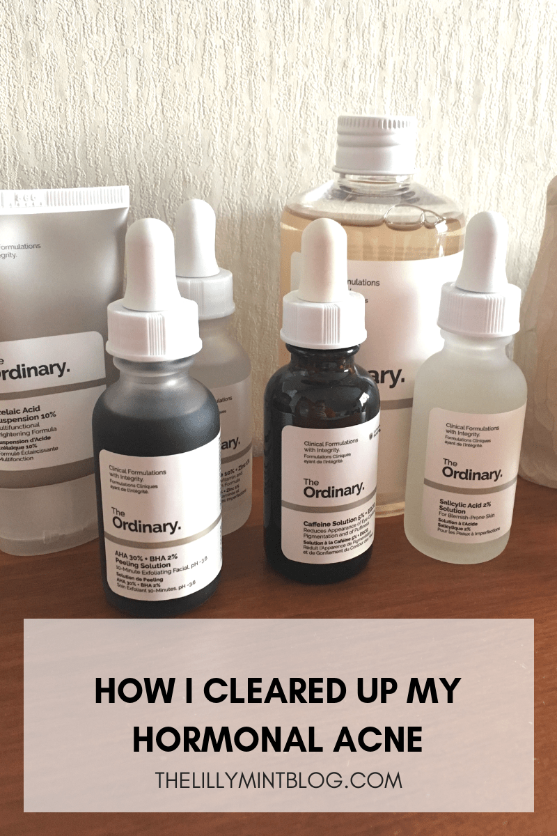 The Ordinary First Impressions The ordinary acne, Skin