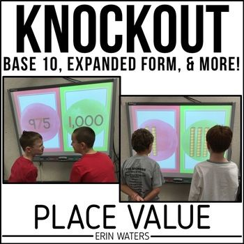 Place Value Knockout Base 10 Expanded Form More Math