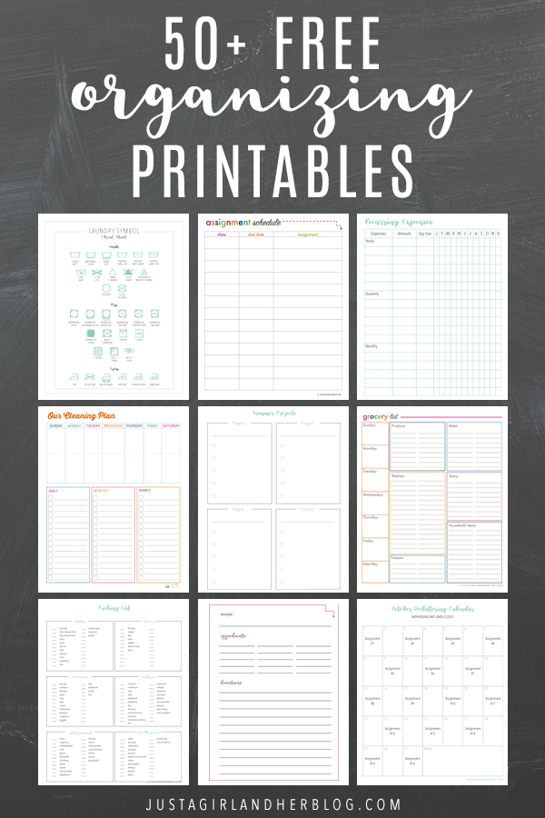 Free printable calendar pages, binders, planner pages, goal setting sheets, party printables and more can help you organize your life and increase your productivity! (And have I mentioned that they're pretty too?! ;) )   #freeprintable #freeprintables #printablebinder #binderprintables #calendar #planner #planning #planningprintables