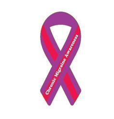 Chronic Migraine Awareness Ribbon
