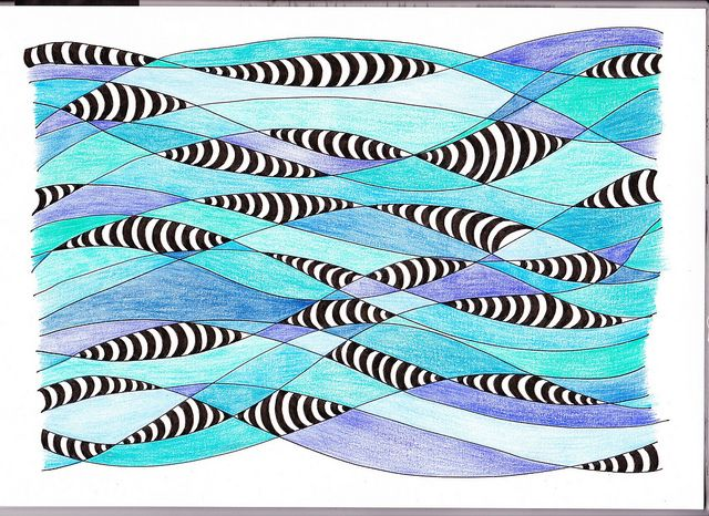 School of Fish by Kelly