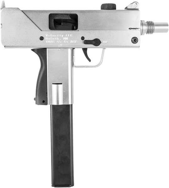 Acp Mac Style Electroless Nickle Pistol MMacNic  Hi Tec