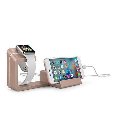 Another great find on #zulily! Rose Gold Universal Charging Stand for Smartphone & Apple Watch #zulilyfinds