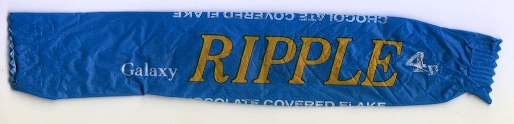 Ripple Chocolate Bar Blue
