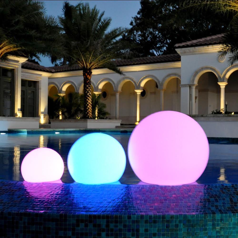outdoor lighting balls. CoolFunLight LED Lighting Pool \u0026 Decoration Sphere - Overstock™ Shopping Big Discounts On Other Outdoor Balls