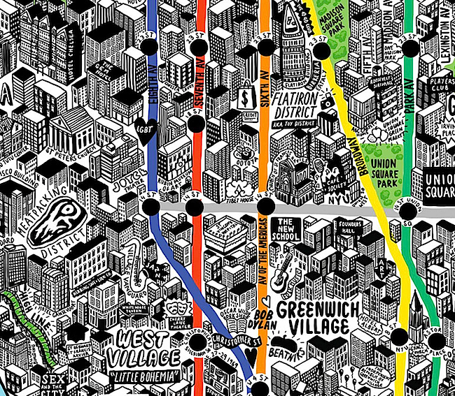 Subway Map Creator New York.Funky Map New York חיפוש ב Google Map Style How To Draw Hands