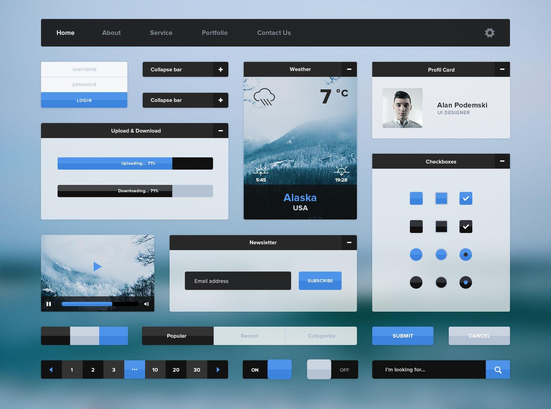 Создание графического интерфейса сайта пример программы создания сайта