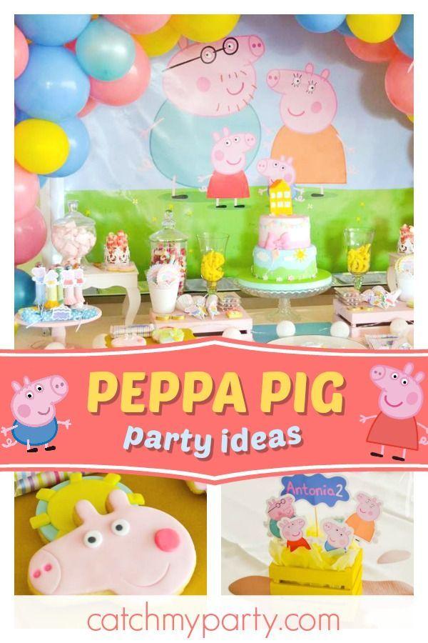 Pin On George Pig Birthday