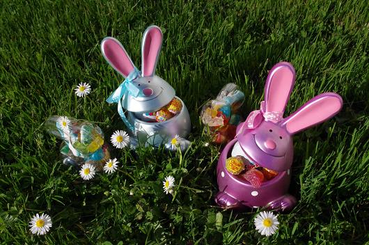 Pour Pâques, on chasse les oeufs et les lapins ! http://www.boutique-jourdefete.com/blog/decouvrir-les-fetes/paques/paques-vive-la-chasse-aux-oeufs/