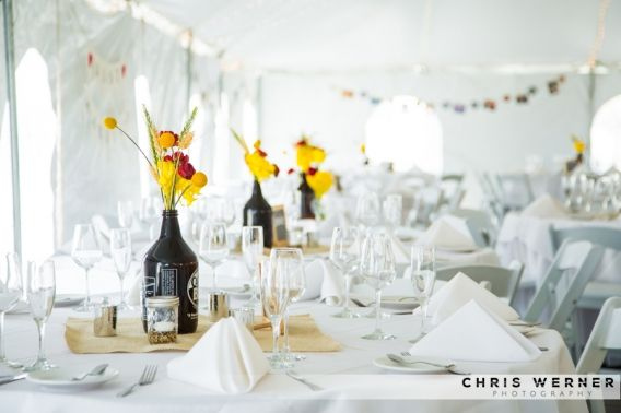 Wedding Reception Decorations & Flowers | chriswernerphoto.com