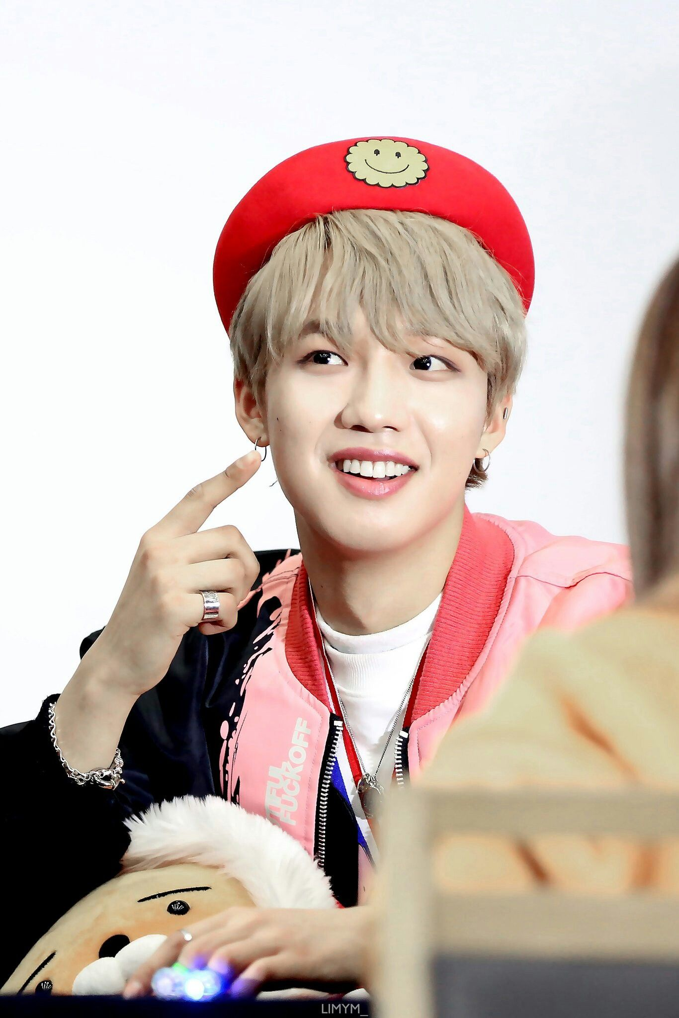 Lim Youngmin - MATCH UP Fansign - 180120 Cre: LIMYM