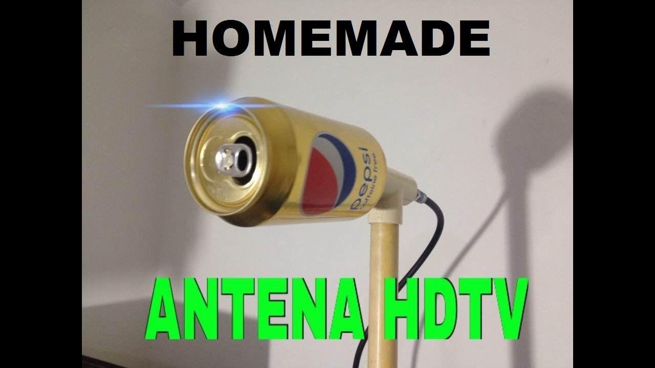 How To Make Homemade Hd Antenna With Can Of Pepsi Plazacamacho