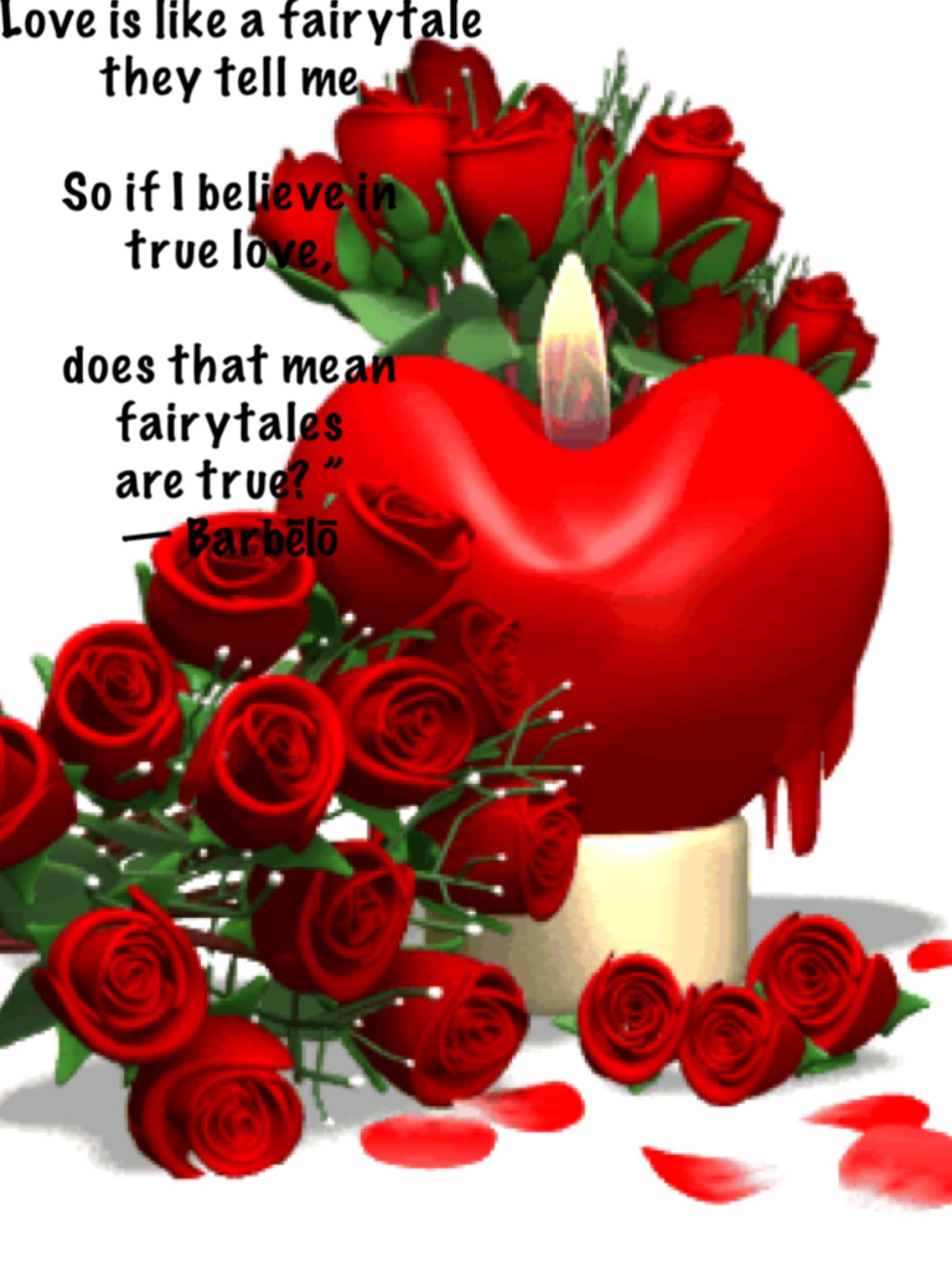 Love Is A Fairytale Hearts Pinterest