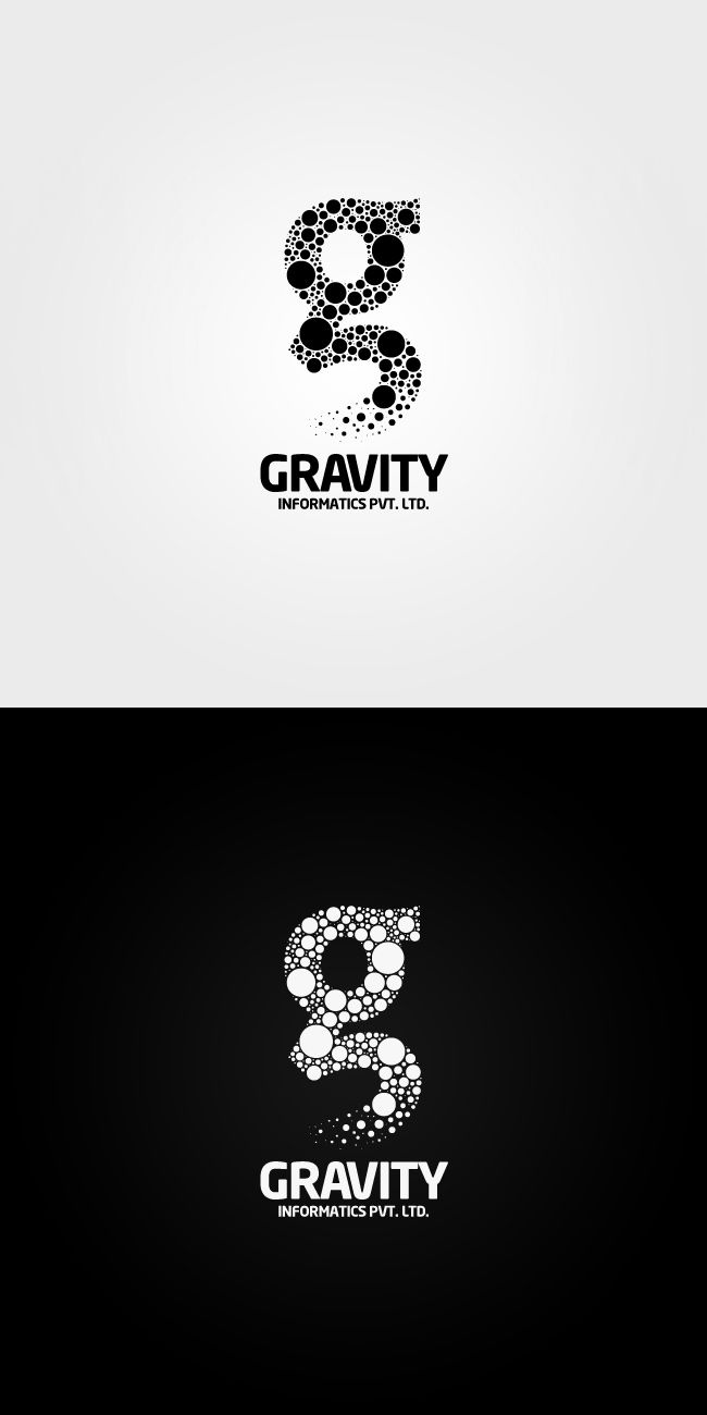 gravity logo / pinned on Toby Designs