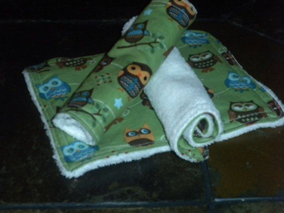 Handmade Wash Cloth Wipes by JustSewAudrey on Etsy, $8.99
