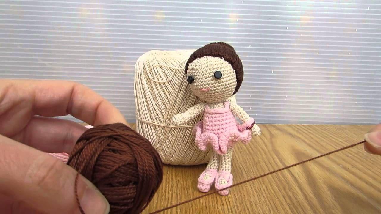 Martina ballerina realizzata a uncinetto con tecnica Amigurumi, realizzata in cotone. Per informazioni ⇨  http://www.youtube.com/watch?v=uInbIpaGy5Q&list=UURr2L9t0hDRxIzmM8RR5n7w
