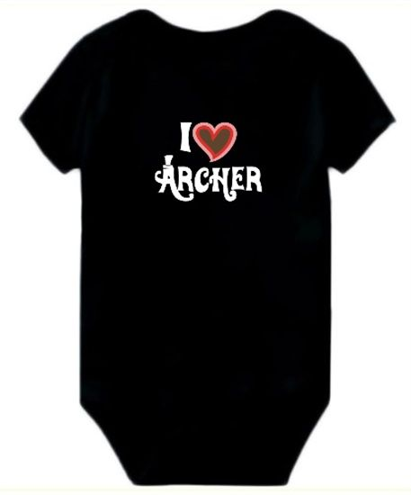 Baby Bodysuit I Love Archer