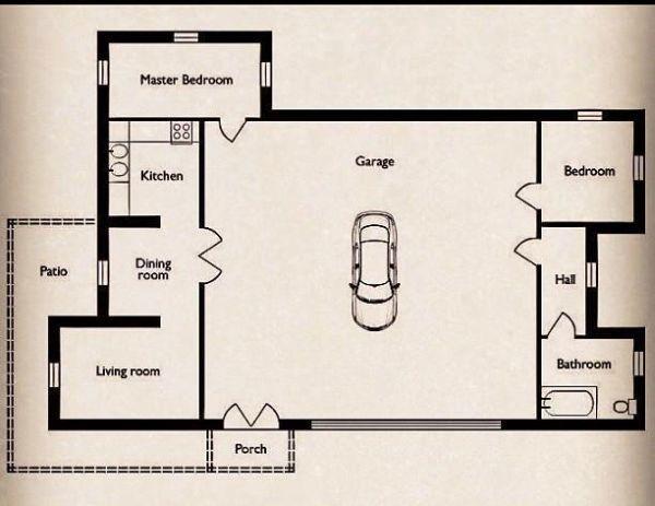 Pin By Sherri And Cavin Clark On Garage Shop Man Cave Garage Floor Plans Big Garage House Floor Plans