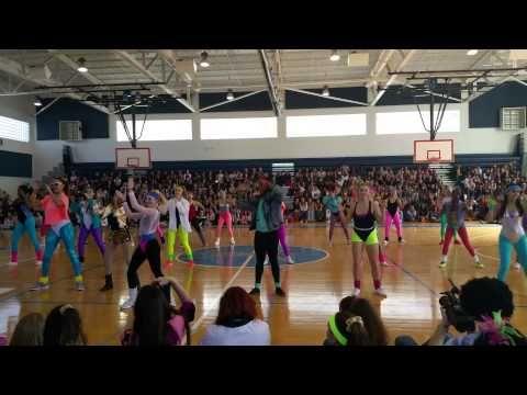 24c9467c32e Dreyfoos Class of 2015  80 s Generation Dance - YouTube