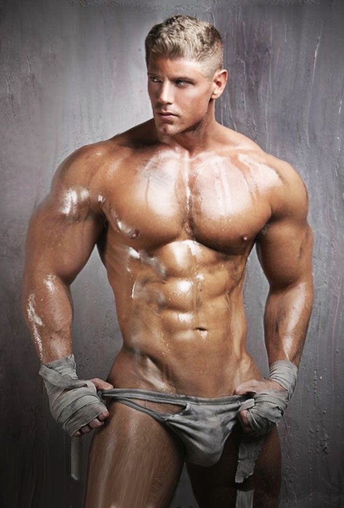 Hot men muscles