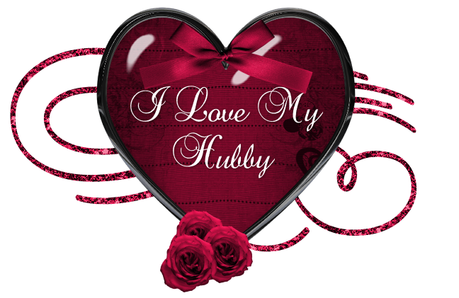 I Love My Hubby love heart marriage love quote husband