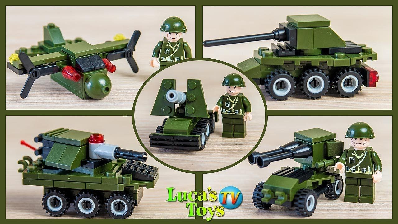 Lego Military Vehicles Lego Army Sets Speed Build And Review