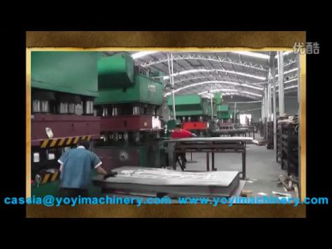 3000tons steel security doors press machine metal safety for Door design machine