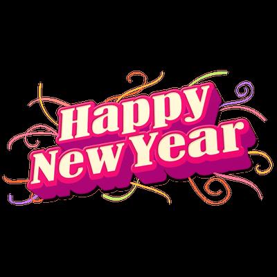 New Years Eve Sticker Happy New Year 2018 Happy New Year Happy