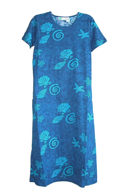 La Cera Womens Short Sleeve Printed Dress Plus Size Awesome
