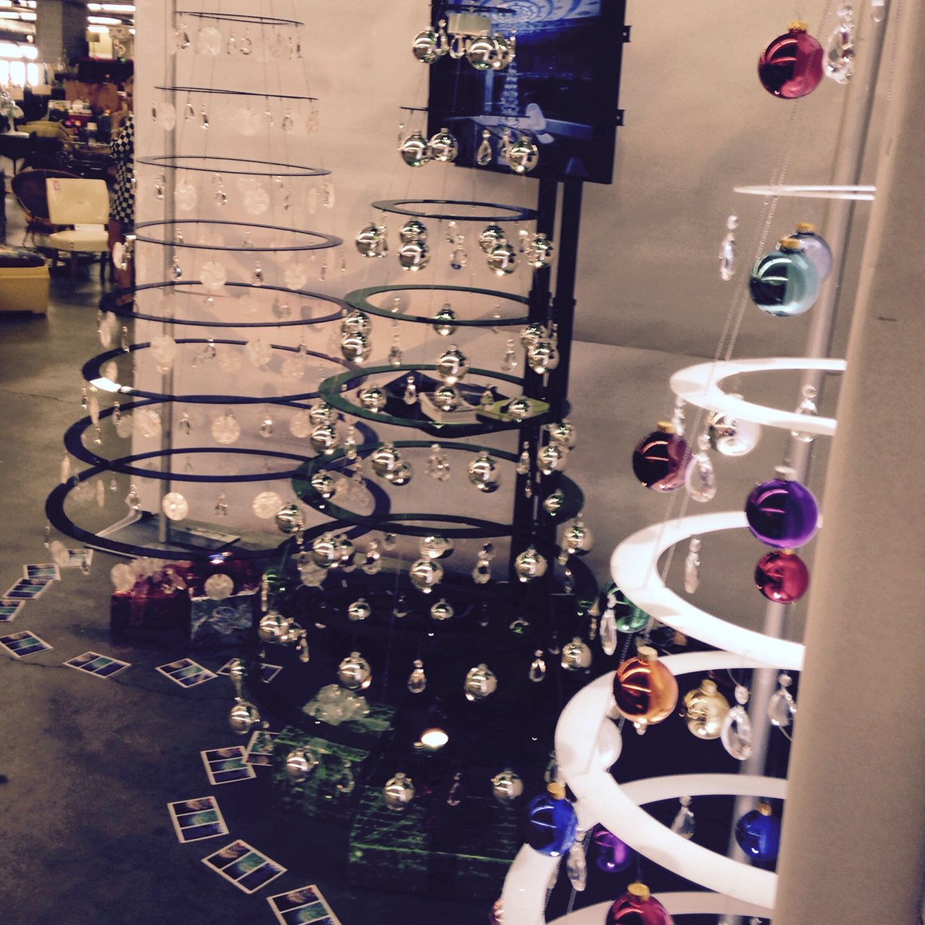 Modern Christmas Trees at Denver #Modernism show | Modern ...