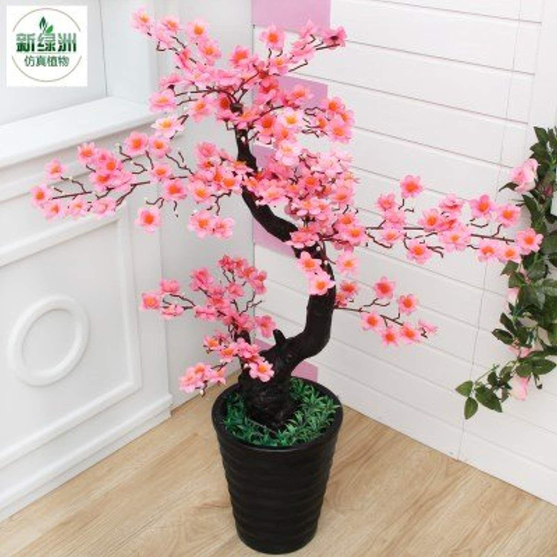 Sproud the living room decoration plastic flower bonsai plants rich