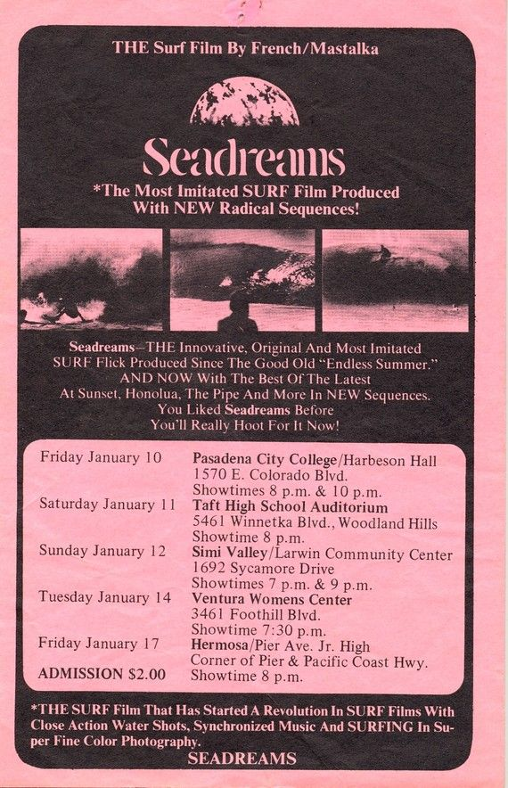 vintage surf movies