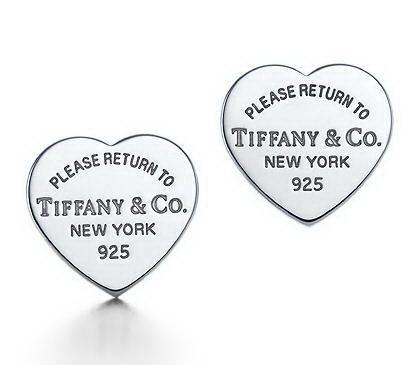 Personal beloved, Return To Tiffany Mini Heart Tag Earrings Jewelry