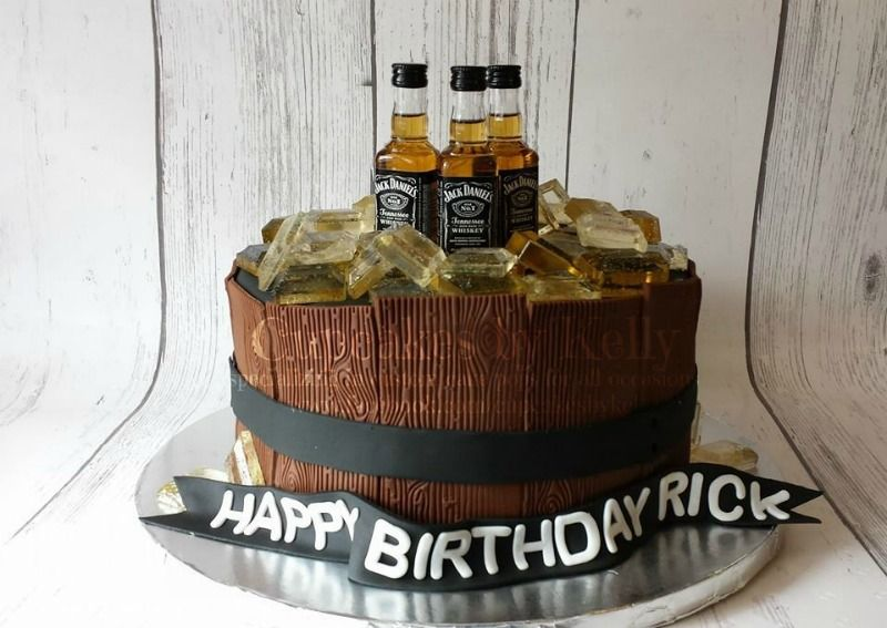 Jack Daniels Birthday cake cakes cake pops and cupcakes by