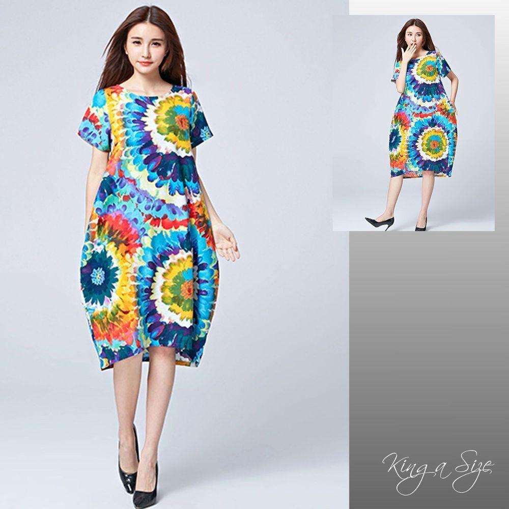 #Sommerkleid #Lagenlook #Baumwolle #Cotton # | Kleider für ...